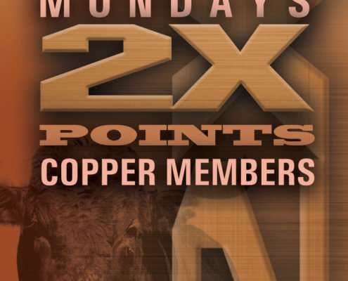 Stockmen's Casino, Commercial Casino, Scoreboard | Mondays 2x Points Copper Members