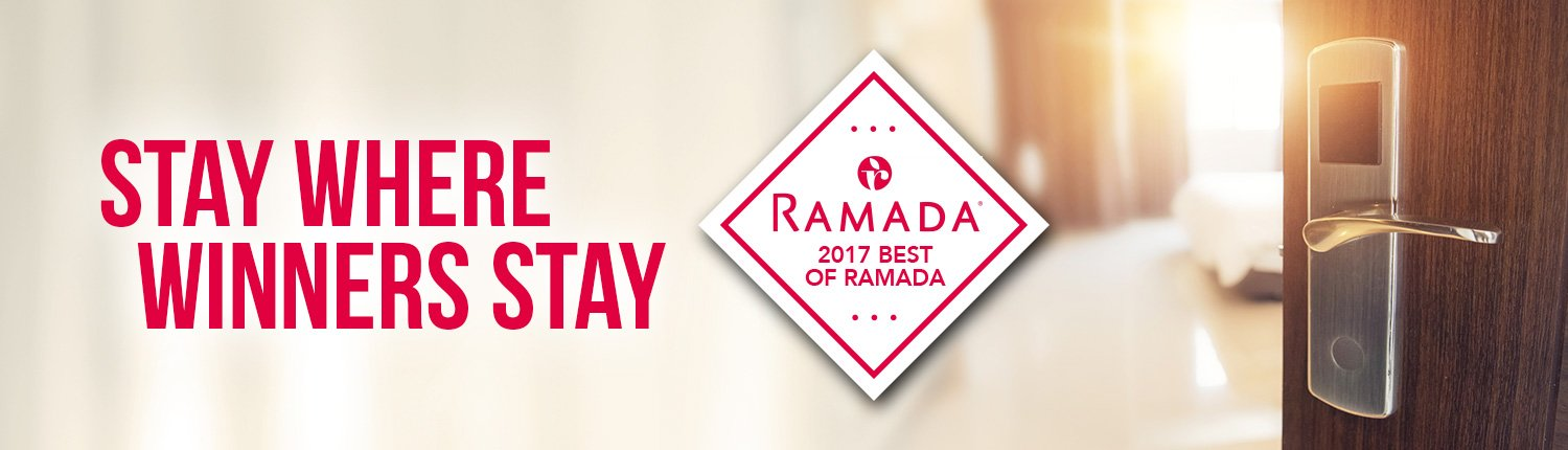 Stay where winners stay | Ramada 2017 Best of Ramada