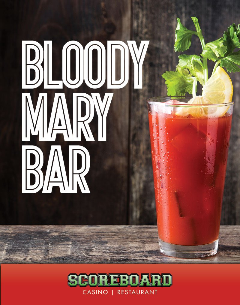 Bloody Mary Bar | Scoreboard Casino | Restaurant