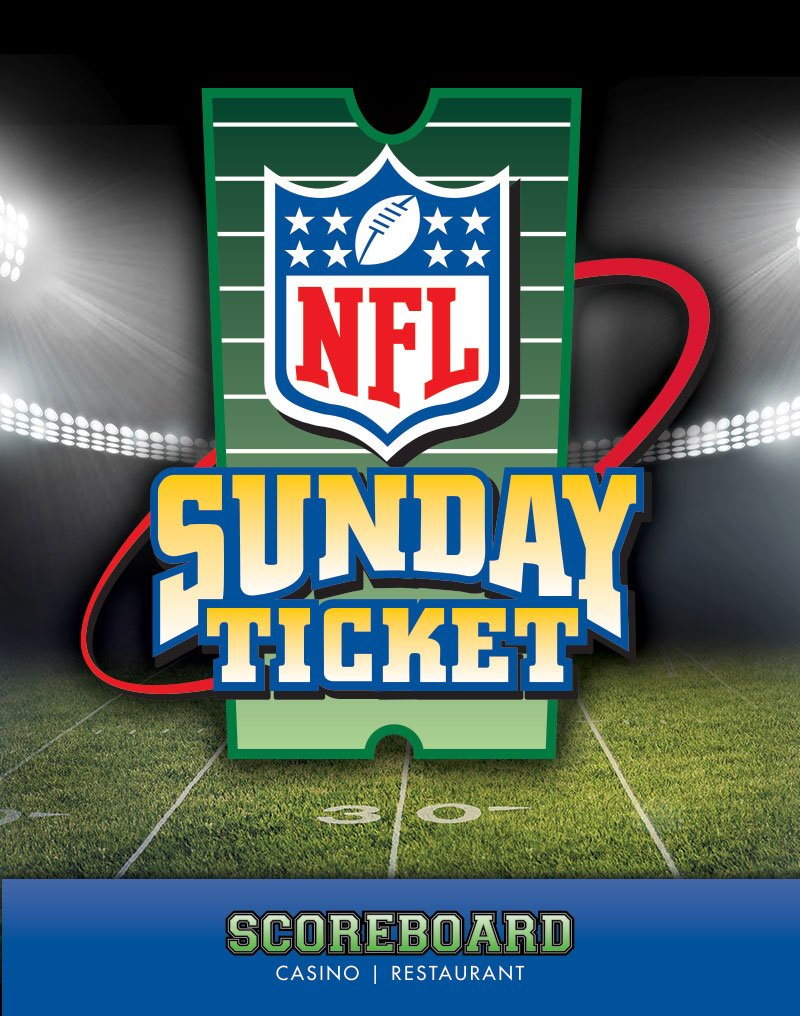 NFL Sunday Ticket - Scoreboard Casino | Restaurant