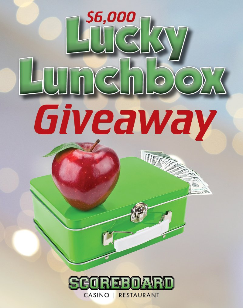 $6,000 Lucky Lunchbox Giveaway