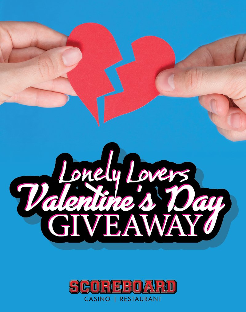 Lonely Lovers Valentine's Day Giveaway