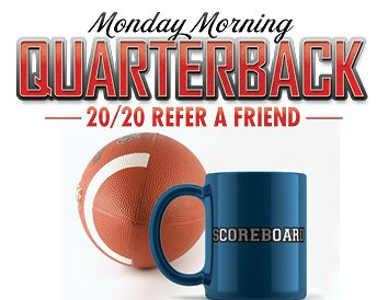 Monday Morning Quarterback 20/20 Refer a Friend